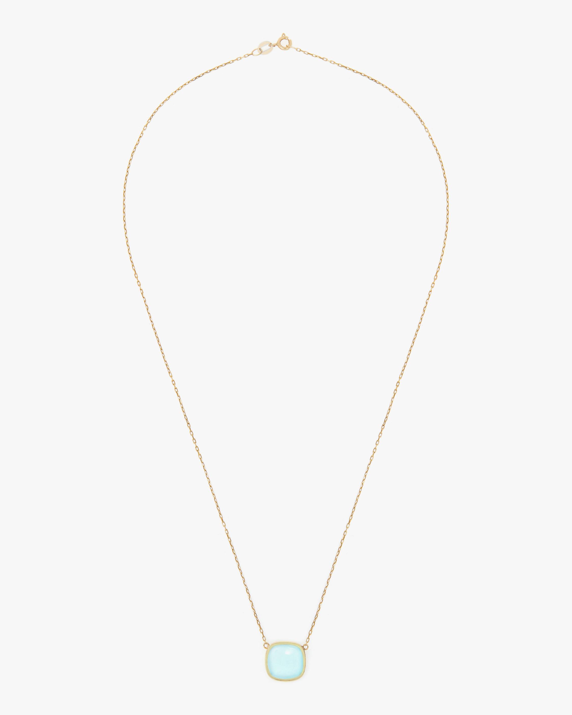 Juliette Du Jacob Blue Chalcedony Pendant Necklace 1