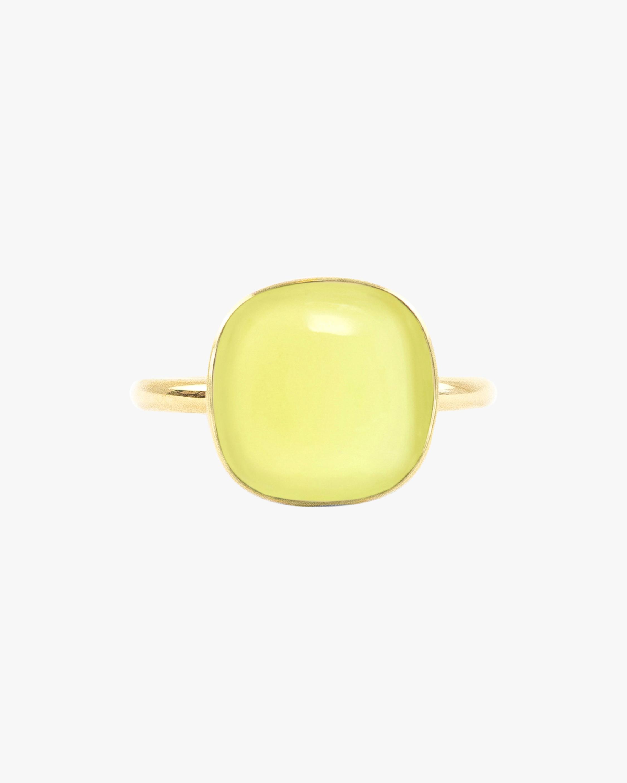 Juliette Du Jacob Yellow Chalcedony Ring 1