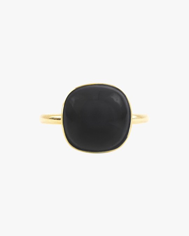 Juliette Du Jacob Black Chalcedony Ring 0