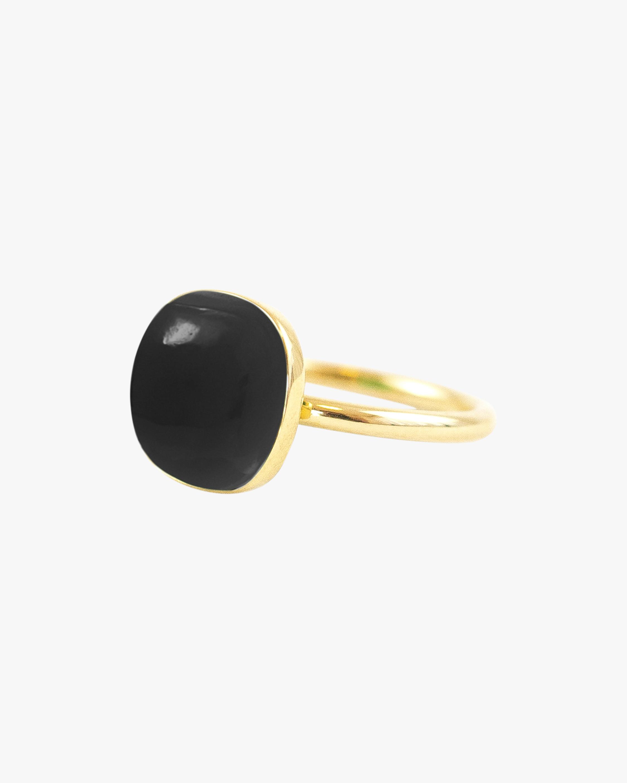 Juliette Du Jacob Black Chalcedony Ring 1