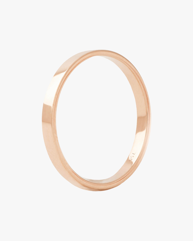 Marie Mas Unisex 18k Rose Gold I Ring 0