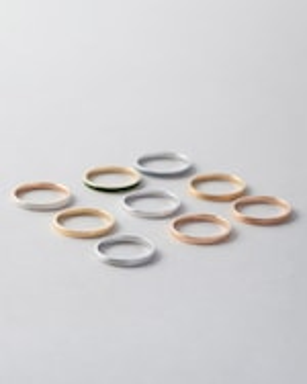 Marie Mas Unisex 18k Rose Gold I Ring 2