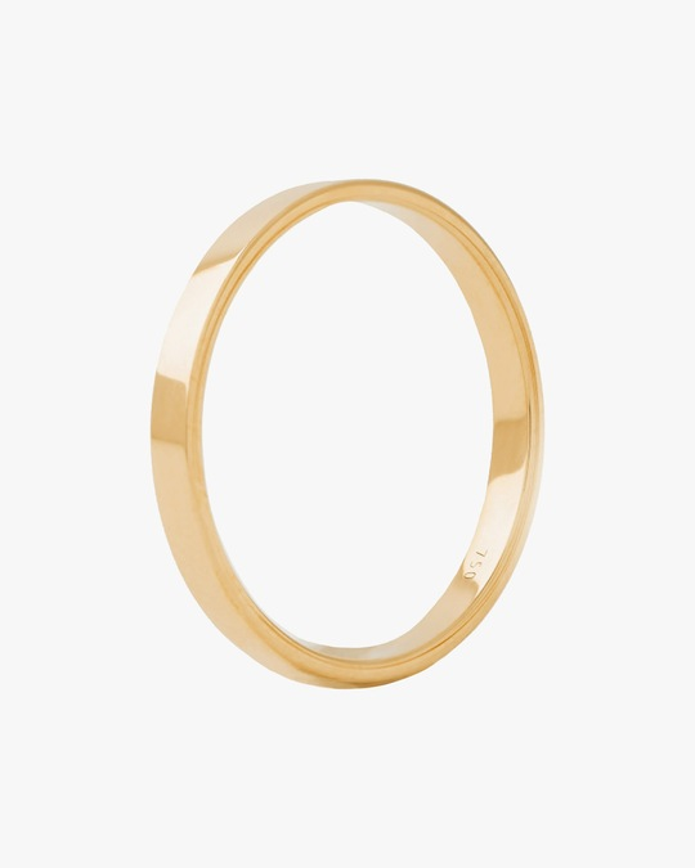 Marie Mas Unisex 18k Yellow Gold I Ring 0