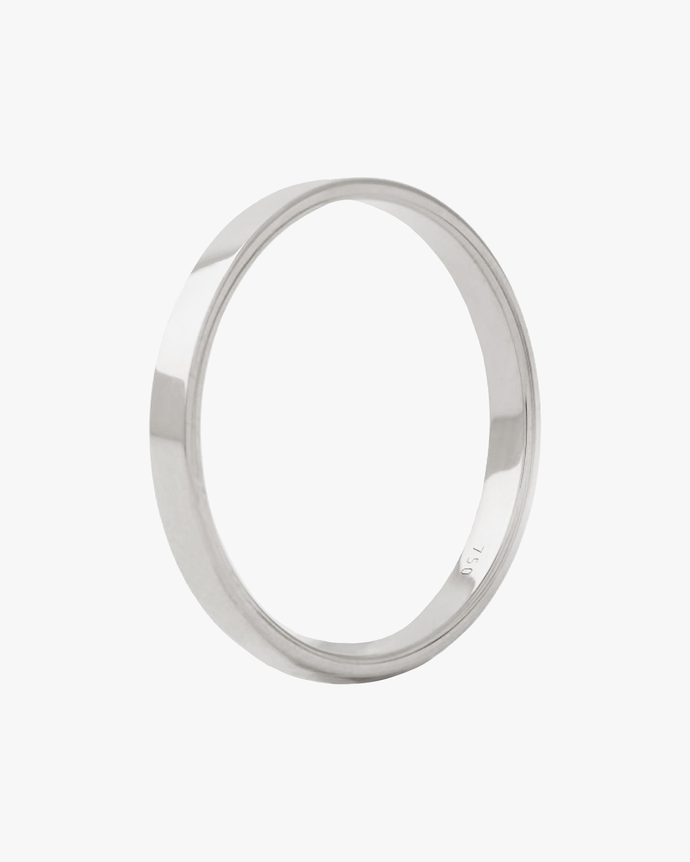 Marie Mas Unisex 18k White Gold I Ring 1
