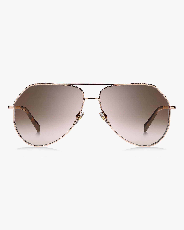 Givenchy Copper Aviator Sunglasses 1