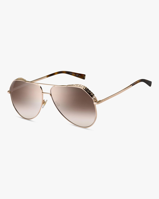 Givenchy Copper Aviator Sunglasses 2