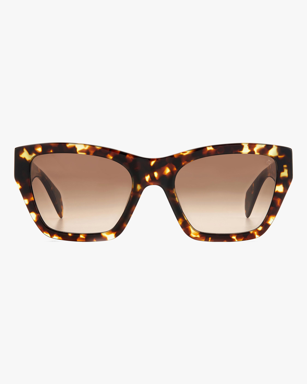 rag & bone Havana Cat-Eye Sunglasses 0