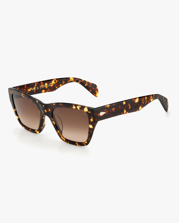 rag & bone Havana Cat-Eye Sunglasses 1