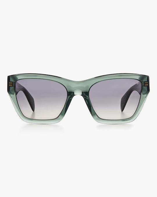 rag & bone Green Cat-Eye Sunglasses 0