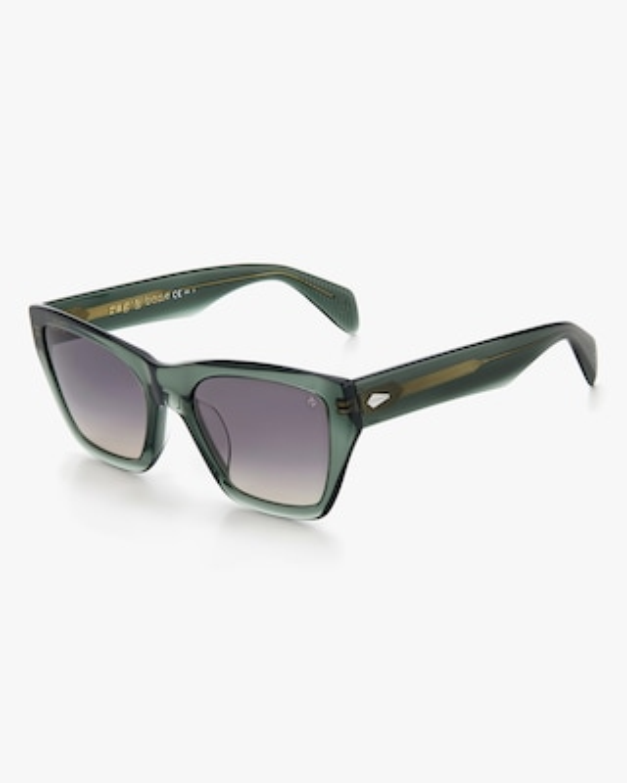 rag & bone Green Cat-Eye Sunglasses 2