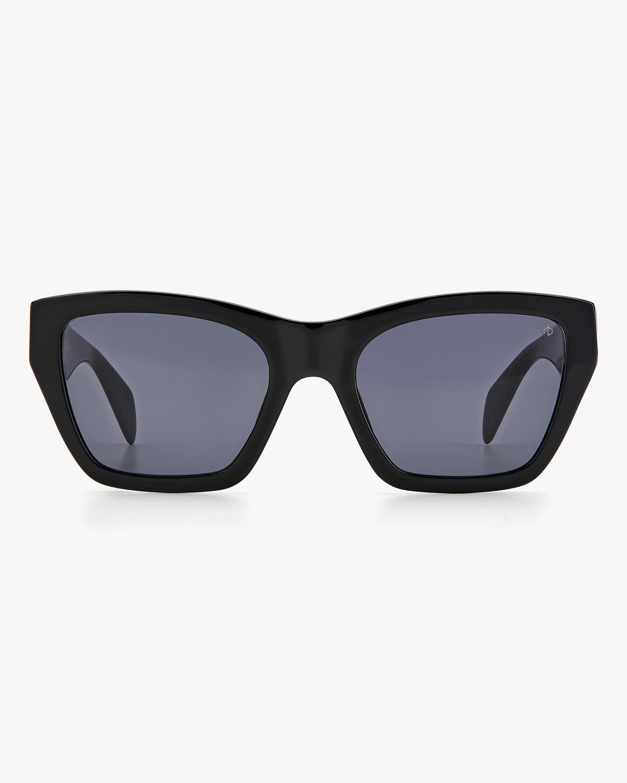 rag & bone Black Cat-Eye Sunglasses 0