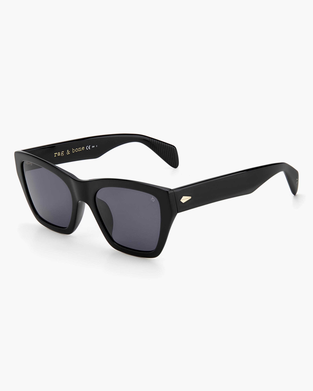 rag & bone Black Cat-Eye Sunglasses 1