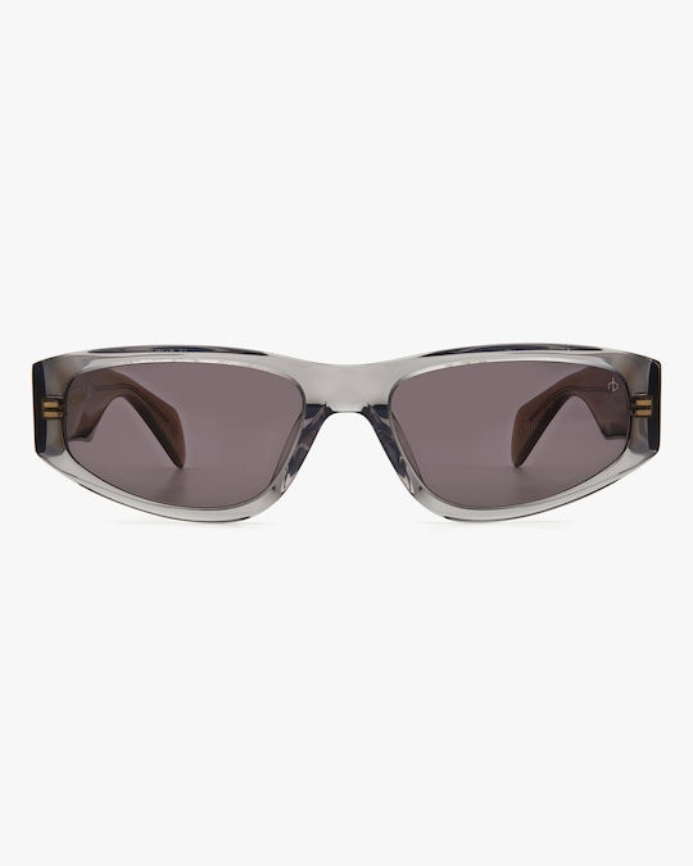 rag & bone Grey Beige Modified Oval Sunglasses 0