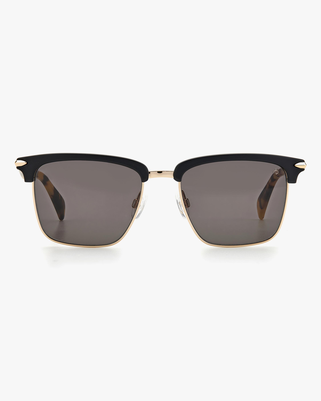 rag & bone Black Square Sunglasses 0