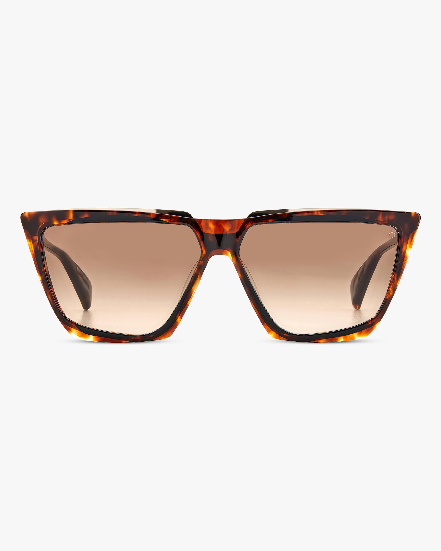 rag & bone Havana Geometric Sunglasses 1