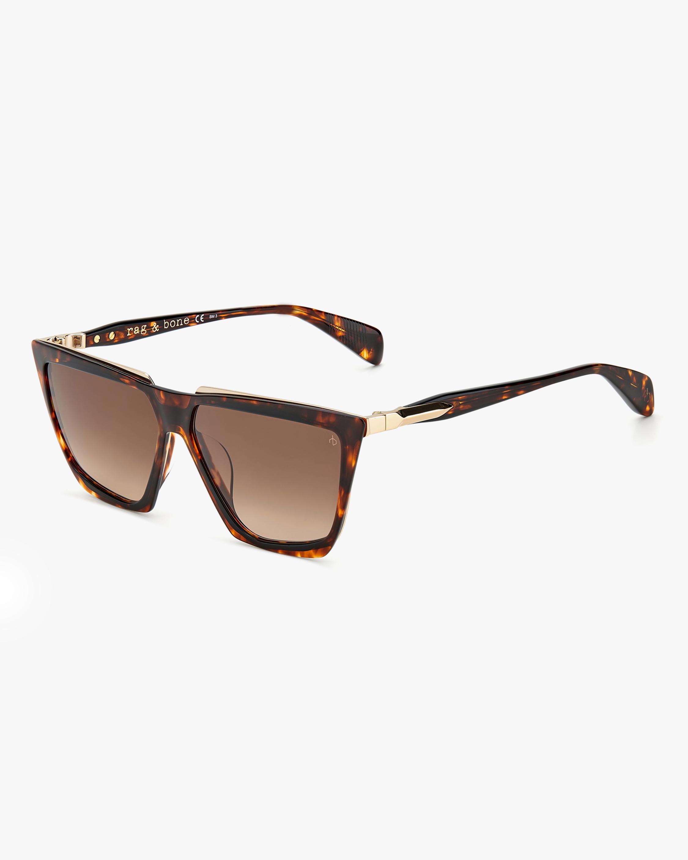 rag & bone Havana Geometric Sunglasses 2