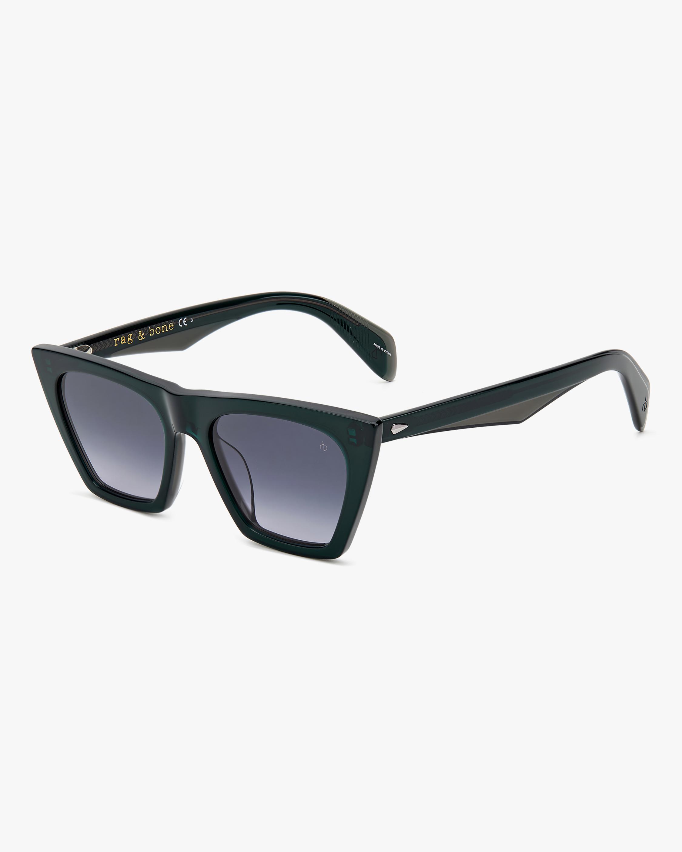 rag & bone Grey Green Cat-Eye Sunglasses 1
