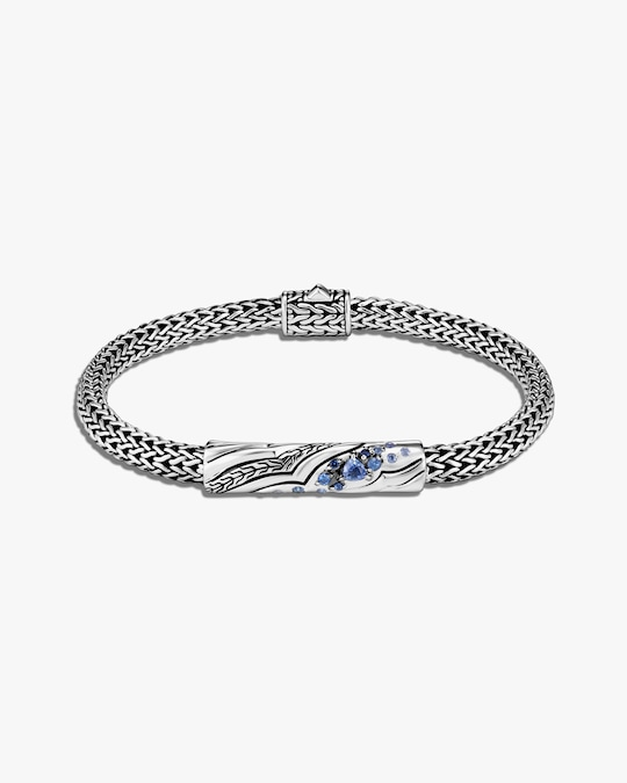 John Hardy Lahar Blue Sapphire Bracelet 0