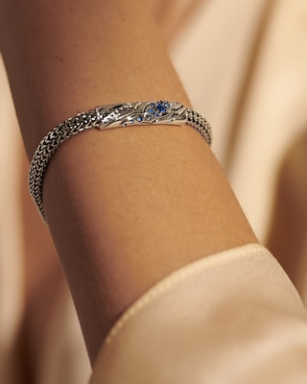 John Hardy Lahar Blue Sapphire Bracelet 2