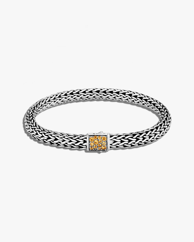 John Hardy Classic Chain Citrine Reversible Bracelet 0