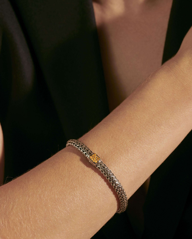John Hardy Classic Chain Citrine Reversible Bracelet 2