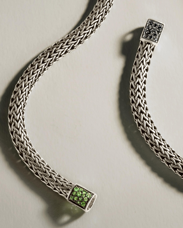 John Hardy Classic Chain Emerald Reversible Bracelet 3