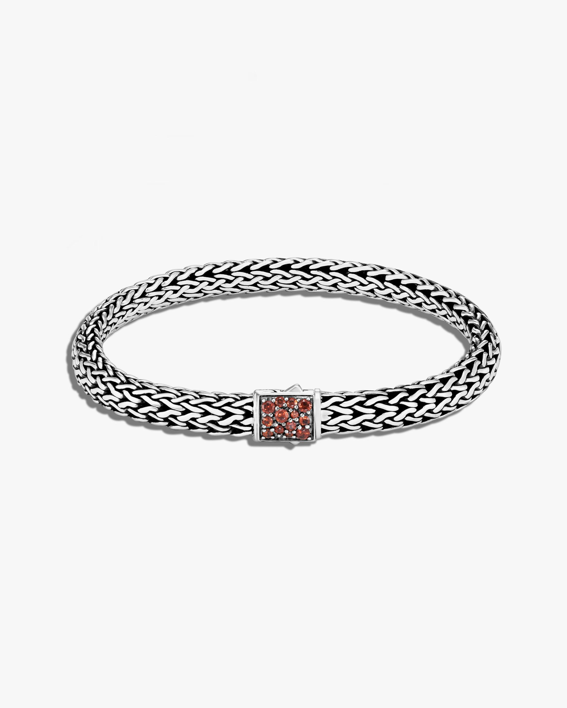 John Hardy Classic Chain Garnet Reversible Bracelet 1