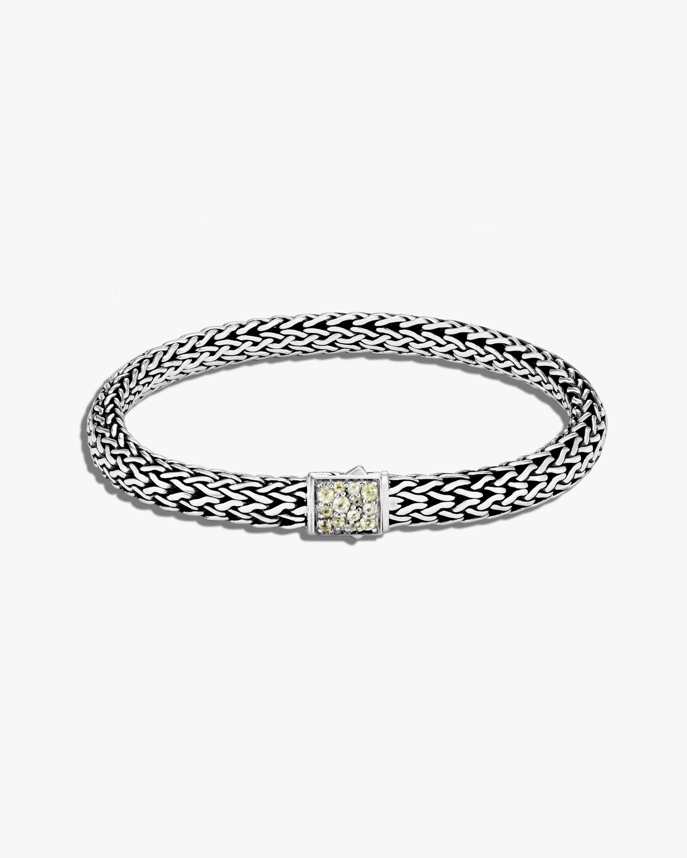 John Hardy Classic Chain Peridot Reversible Bracelet 0