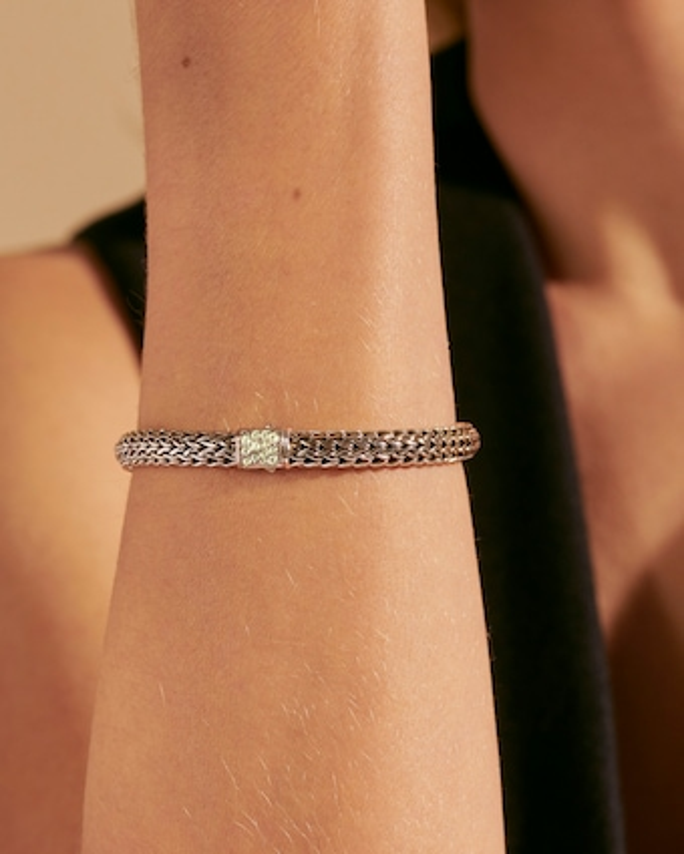 John Hardy Classic Chain Peridot Reversible Bracelet 2