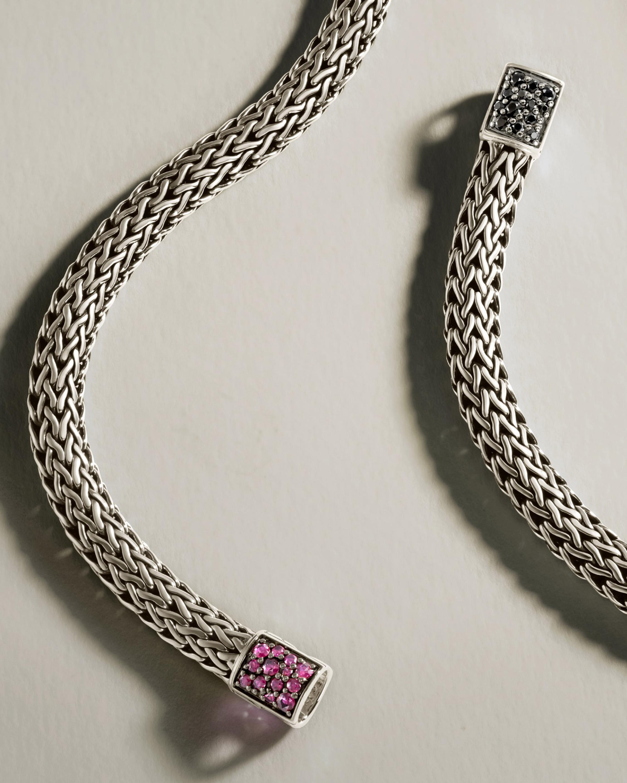 John Hardy Classic Chain Ruby Reversible Bracelet 3