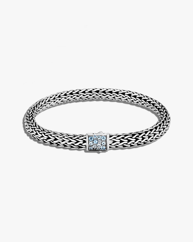John Hardy Classic Chain Topaz Reversible Bracelet 0