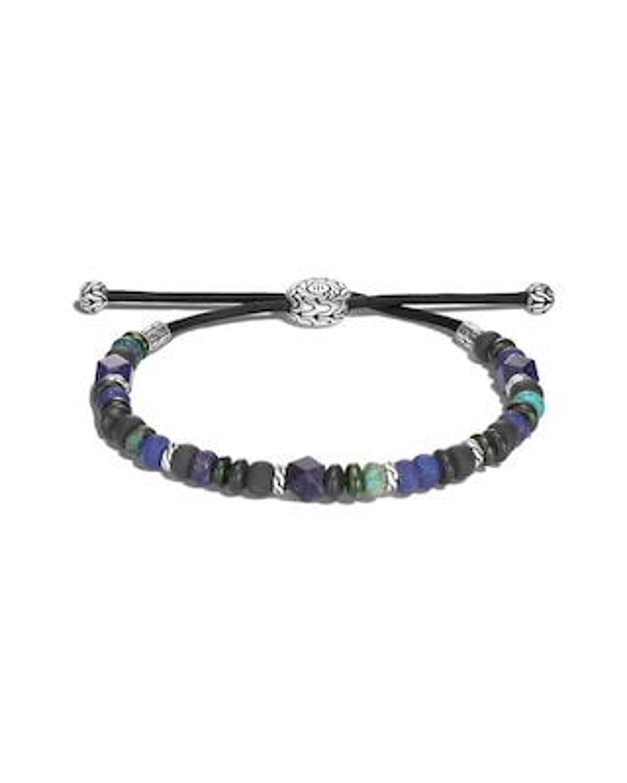 John Hardy Men's Classic Chain Gemstone Beaded Bracelet 1