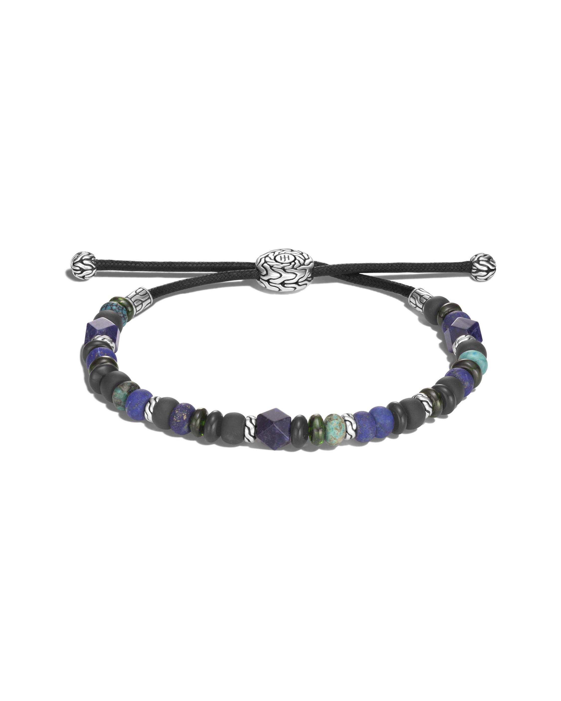John Hardy Men's Classic Chain Gemstone Beaded Bracelet 0