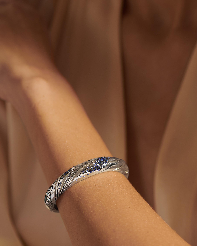 John Hardy Lahar Blue Sapphire Cuff 2