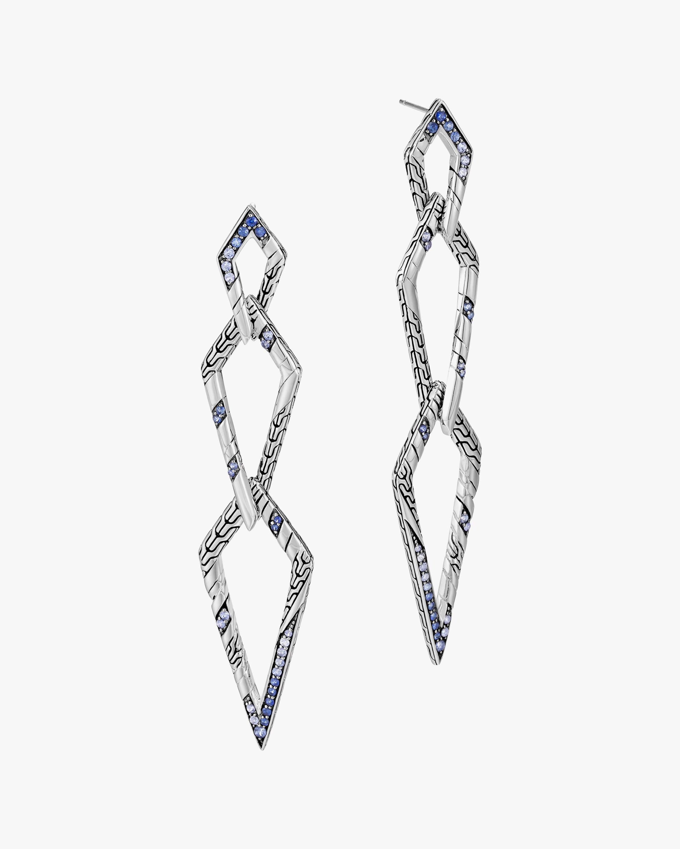 John Hardy Lahar Interlink Drop Earrings 1