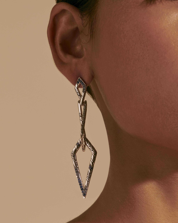 John Hardy Lahar Interlink Drop Earrings 2