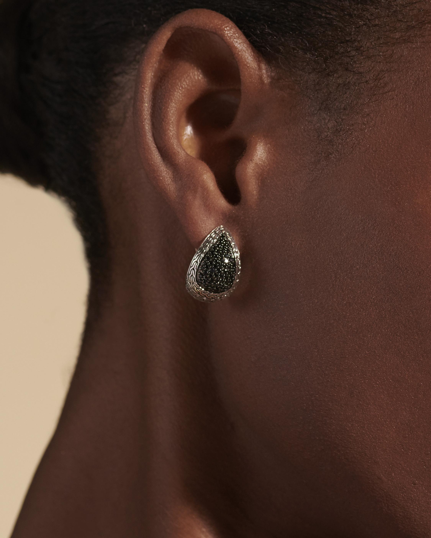 John Hardy Classic Chain Buddha Belly Earrings 1