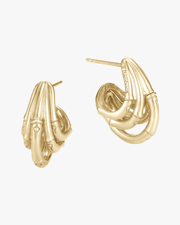 John Hardy Bamboo Hoop Earrings 0