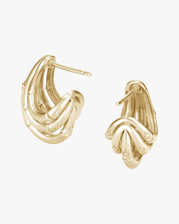 John Hardy Bamboo Hoop Earrings 2