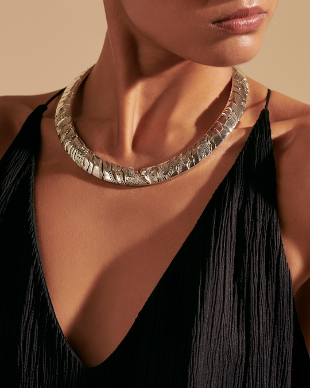 John Hardy Lahar Diamond Necklace 1