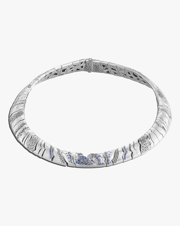 John Hardy Lahar Blue Sapphire Necklace 1