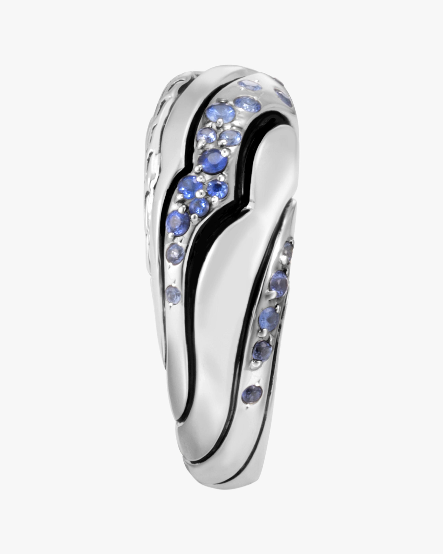 John Hardy Lahar Blue Sapphire Dome Ring 3