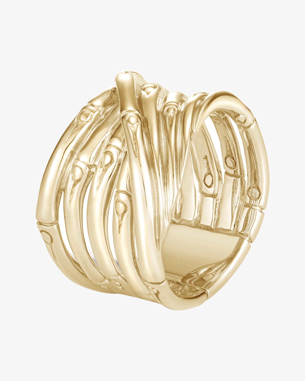 John Hardy Bamboo Ring 0