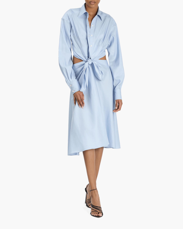 Prabal Gurung Front-Tie Convertible Dress 0