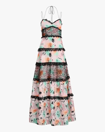 Prabal Gurung Tiered-Lace Gown 1