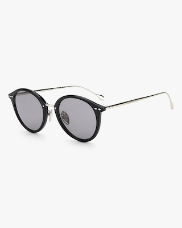 Isabel Marant Black Oval Sunglasses 2