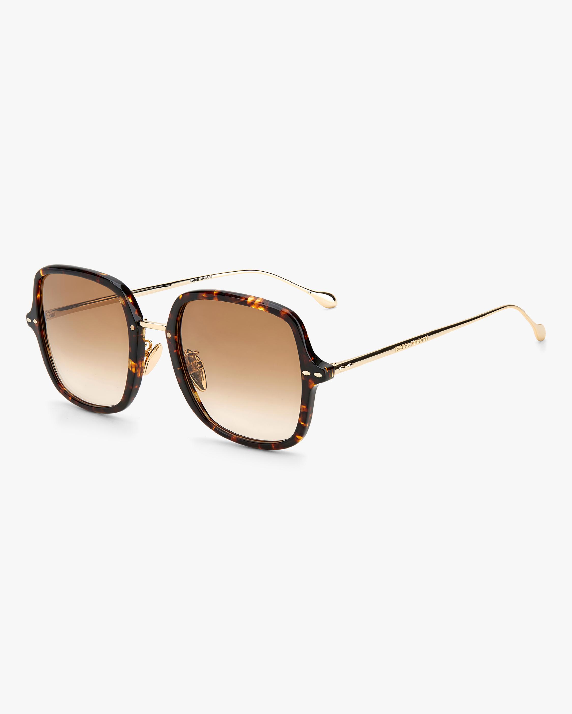 Isabel Marant Havana Square Sunglasses 1