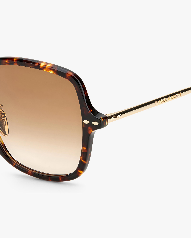 Isabel Marant Havana Square Sunglasses 3