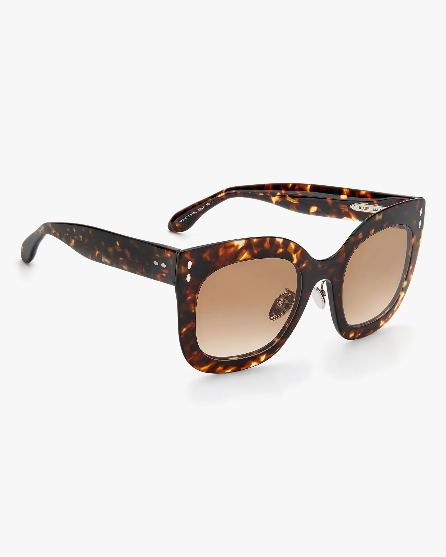 Isabel Marant Dark Havana Square Sunglasses 2