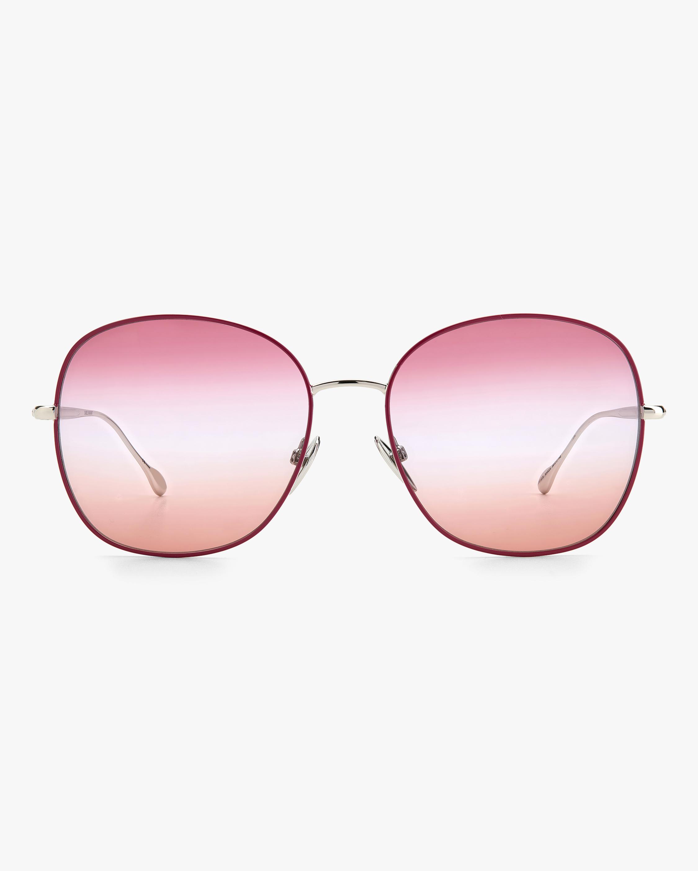 Isabel Marant Violet Oval Sunglasses 0